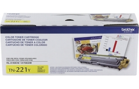 Brother TN221Y - Toner cartridge - 1 x yellow - 1400pag