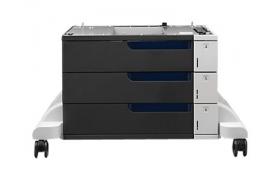 HP LaserJet CP5525 3X500 Feeder Stand