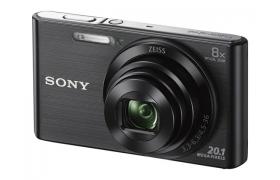 SONY CAMARA W830 20.1MP/8X/HD 720P/2.7