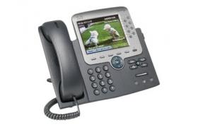 Cisco CP7975G Unified IP Ph VoIP phone SCCP SIP 8li