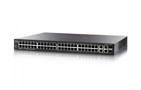 CISCO SG300-52P-K9-NA 52-port Gigabit PoE Managed Switch