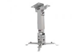 KlipX Soporte Proyector Techo hasta 10 Kilos Blanco 28c.m.