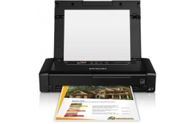 EPSON Printer Laptop WorkForce 100 Wi Fi - A4