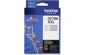 BROTHER CARTRIDGE LC207BK MFCJ4420