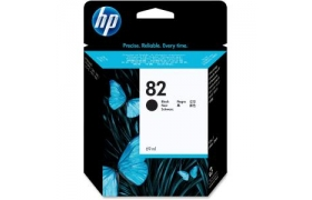 HP 82 28-ml Ink Cartridge Black Negro