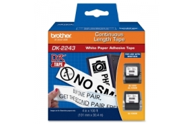 DK2243 102mm termal label 30.48mts for QL1050/QL550