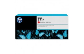 HP 771A 775ml Chrmtc Red Ink Cartridge