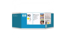 HP 90 400 ml Ink Cartridge Yellow