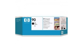HP 90 Printhead and Cleaner Black C5054A