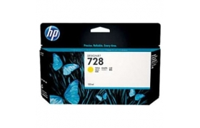 HP 728 300-ml Yellow F9K15A