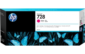 HP 728 300-ml Magenta Black Ink F9K16A