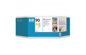 HP 90 225ML YELLOW INK CARTRIDGE C5064A