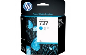 INK CARTRIDGE 727 Cyan 300ml F9J76A
