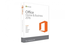 MICROSOFT CAJA OFFICE HOME AND BUSINESS 2016 32/64 ESPAÑOL