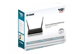 D-Link Router Wireless N300 3G/4G LTE Multi-WAN Acepta BAM