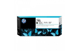 CARTRIDGE TINTA HP 745 F9K05A MATTEBLACK 300ML