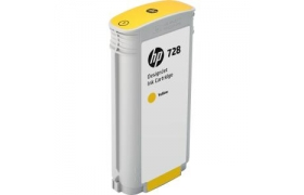 Cartridge Tinta HP 728 Yellow 130ml F9J65A