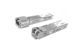 1000BASE T SFP transceiver module for Category 5 copper wire