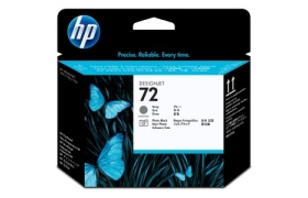 HP 72 Printhead Gray / Photo Black