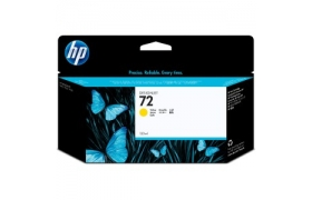 Tinta HP 72 130ml Yellow Ink Cartridge amarillo