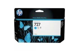 Cartucho de tinta 727 130ml Cyan Ink Cart B3P19A